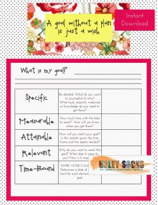 SMART Goal; S.M.A.R.T.; Holey Socks Art Printable; Free Printable