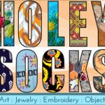 Holey Socks Art on Etsy