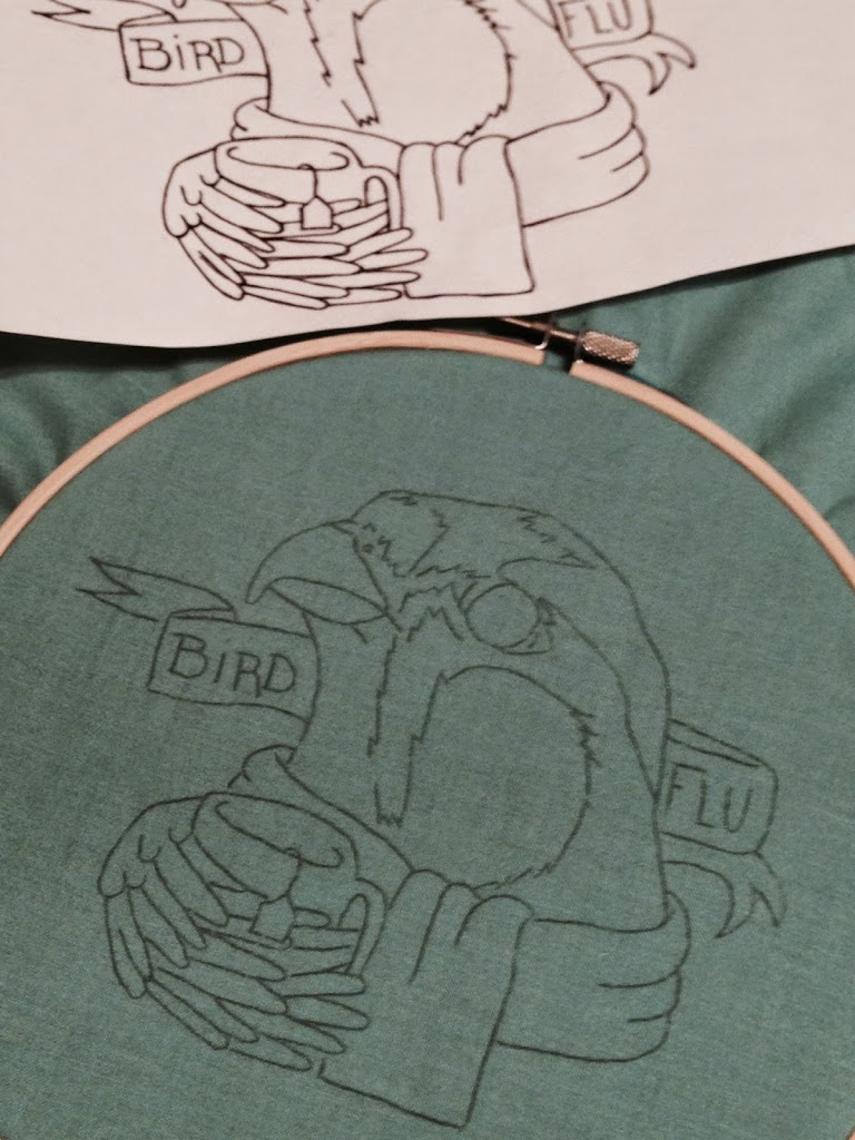 Embroidery Patterns Coming Soon